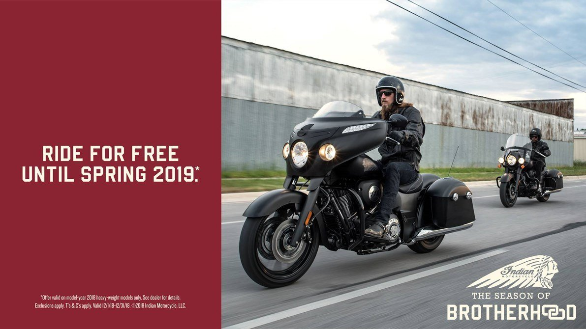 Indian - 2018 Thunder Stroke 111 Financing or Trade-In